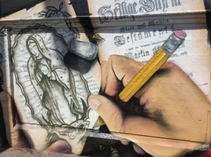 New Street Art, Bloor/Perth underpass. © Liz Frederiksen